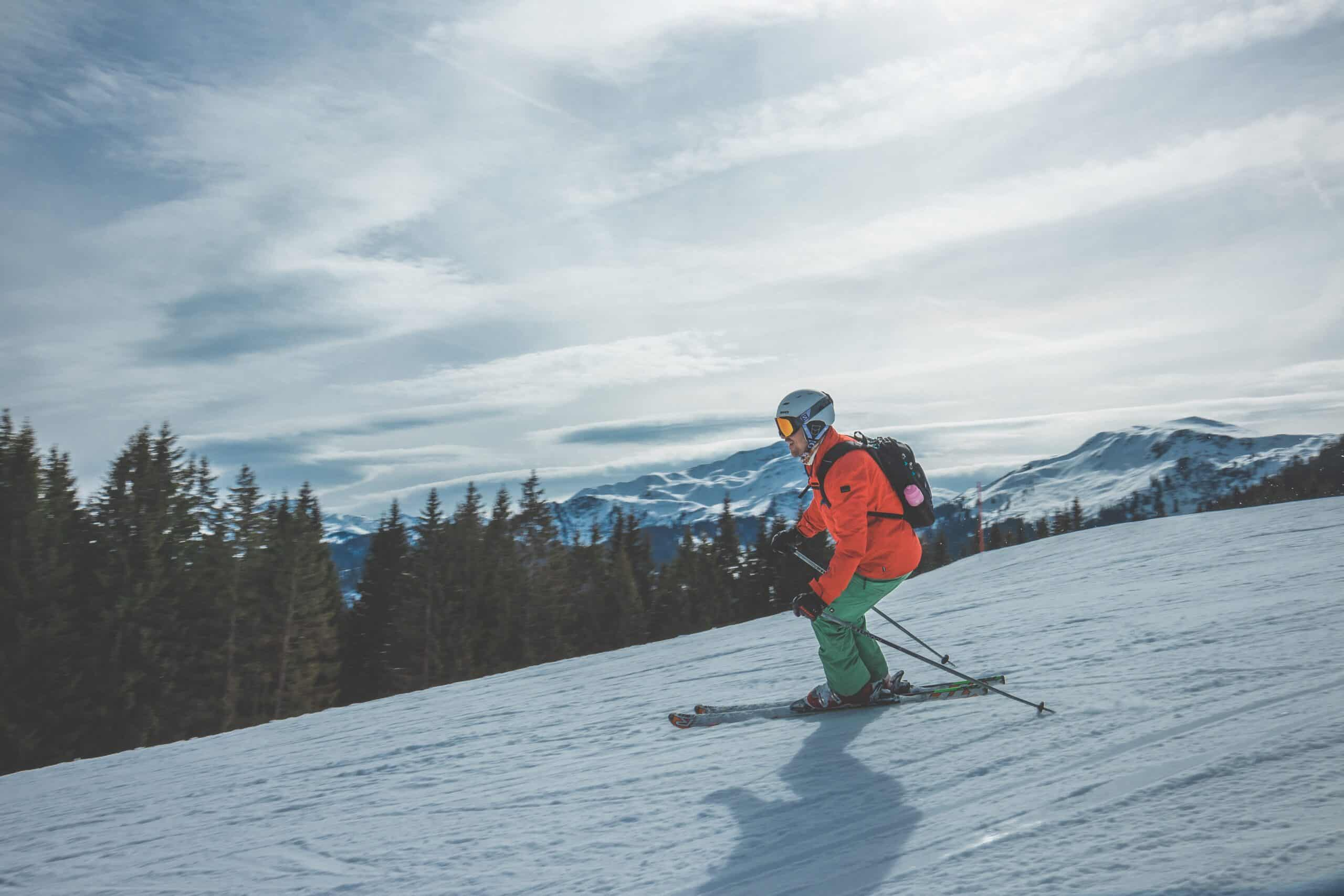 man in best ski boots