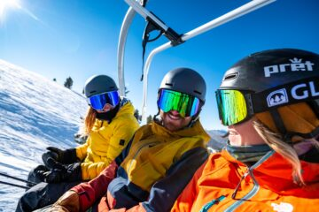 women and men in best ski goggles
