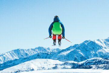 Ski boots with soft flex