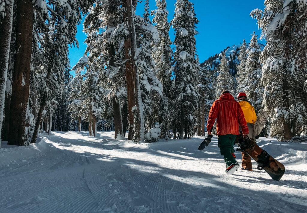 snowboarders headed into offseason