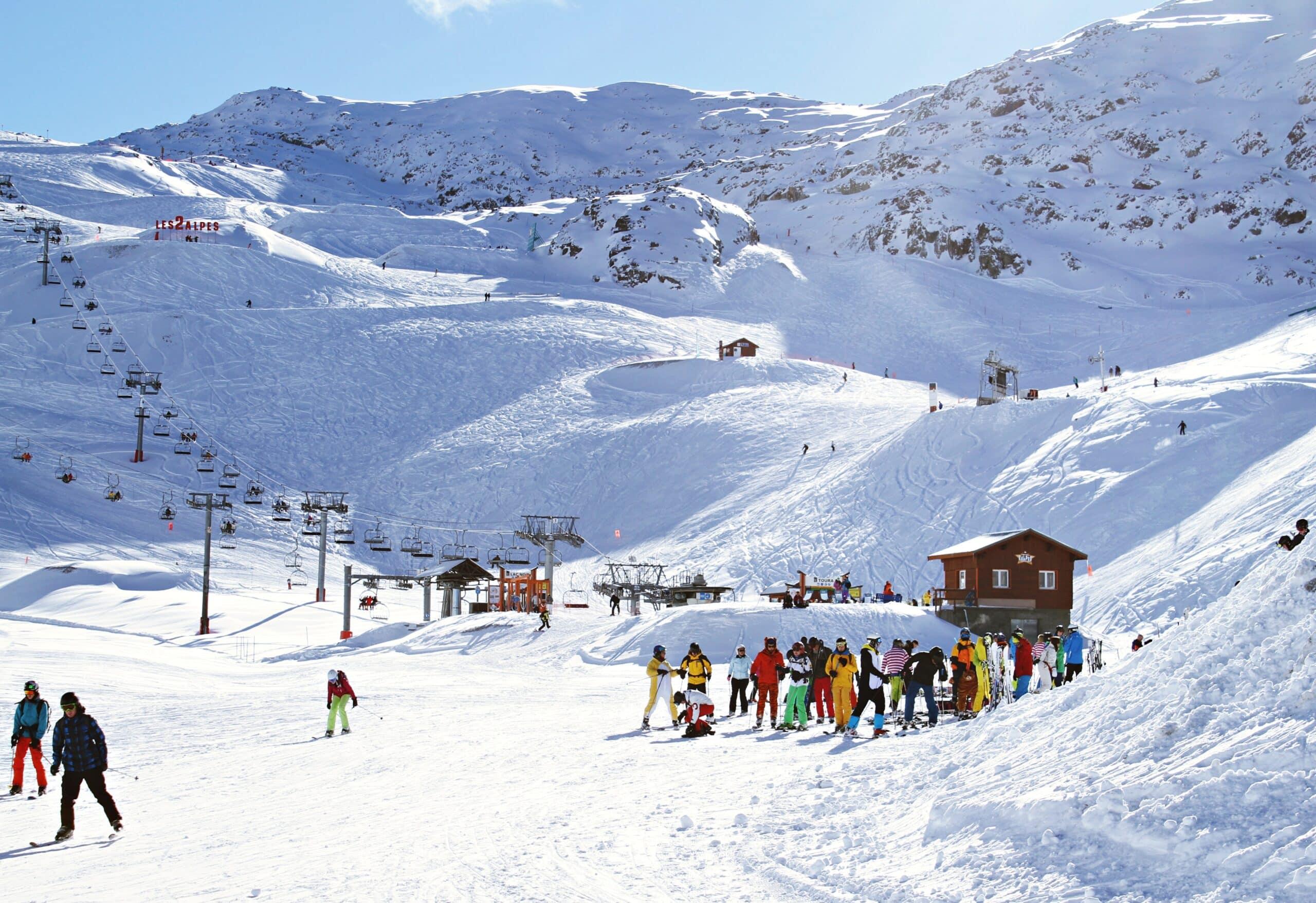 people on a ski trip