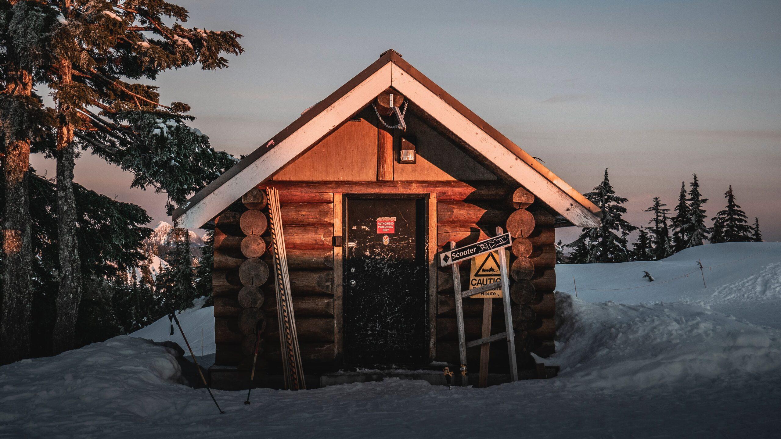 ski patrol cabin