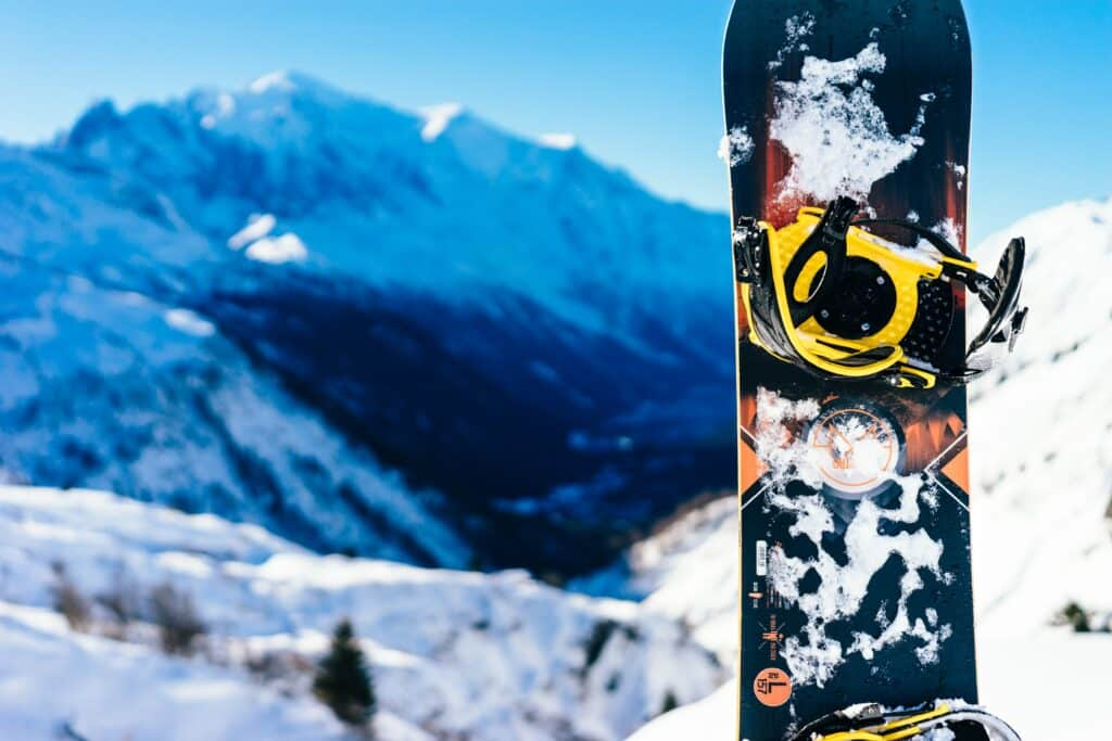 how to get stickers off of skis